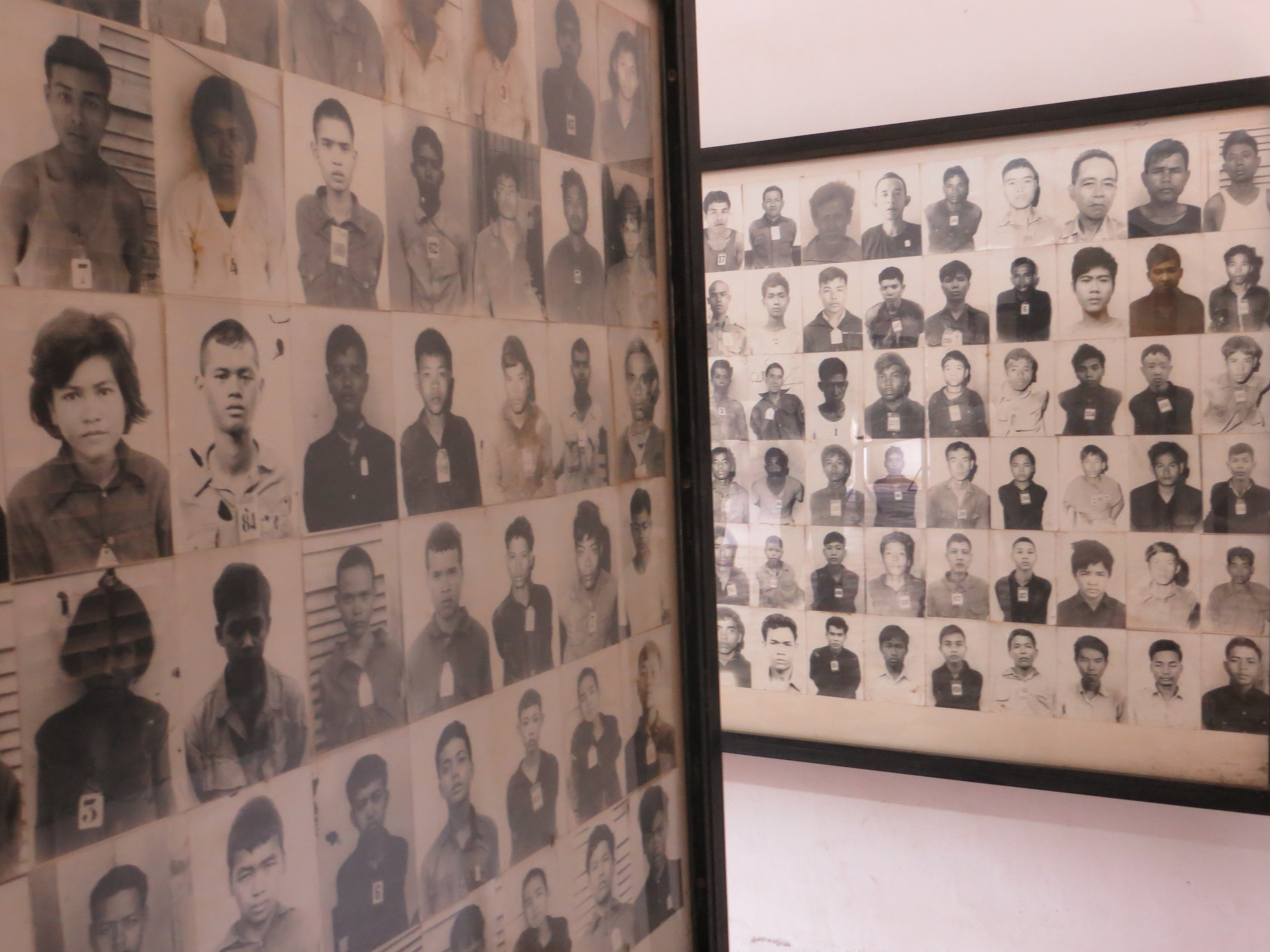 A catalog of those convicted of treason and killed at Toul Sleng Prison, Phnom Penh (Jessica Lander)
