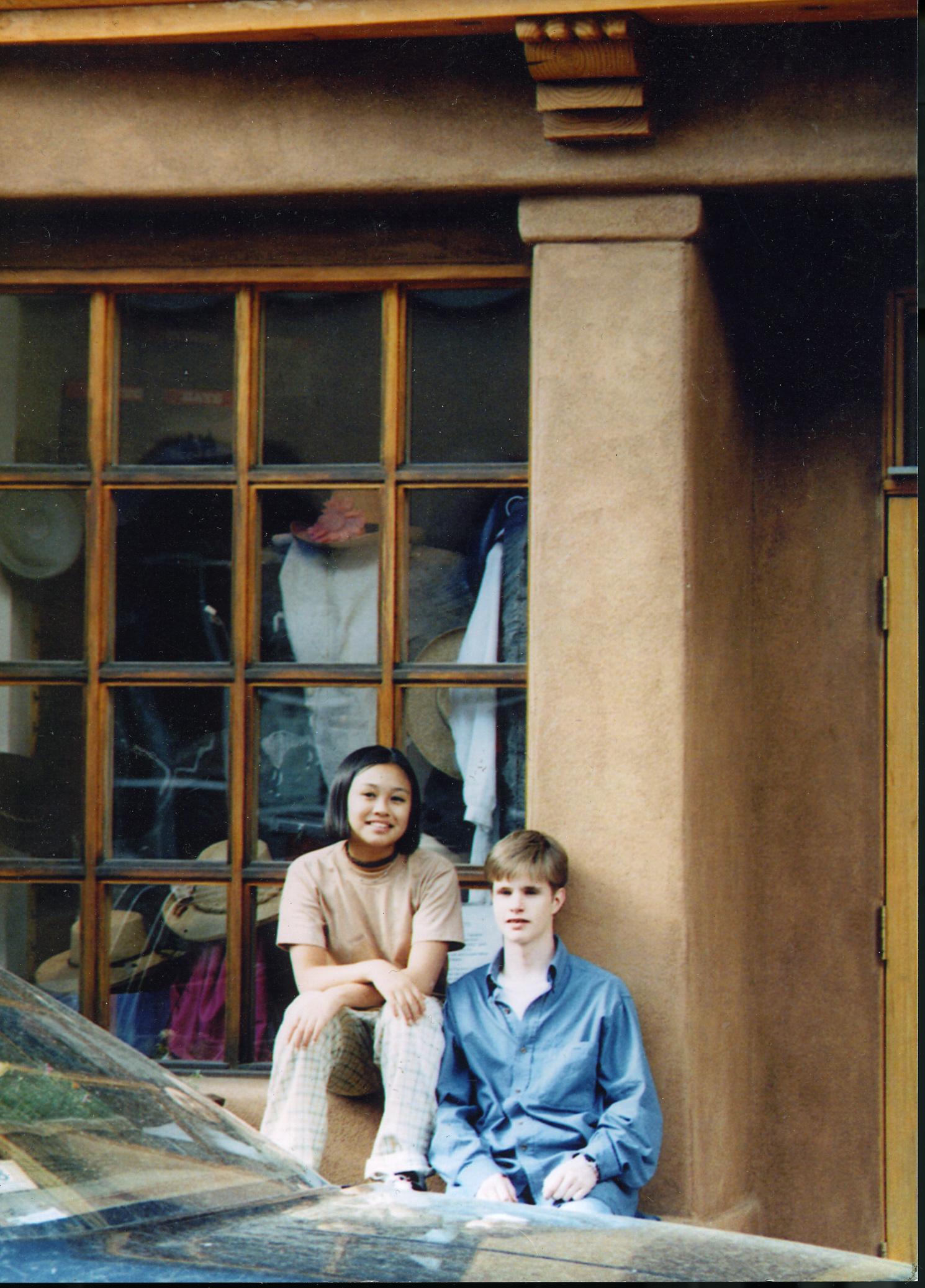 Michele Josue and Matthew Shepard, friends from high school.