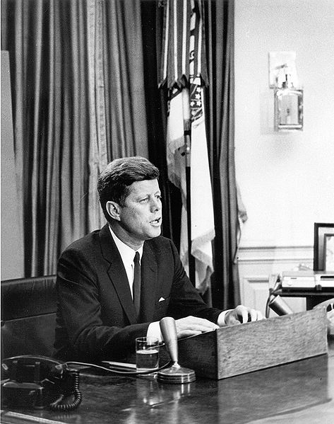 President John F. Kennedy addresses the nation on civil rights, June 11, 1963
