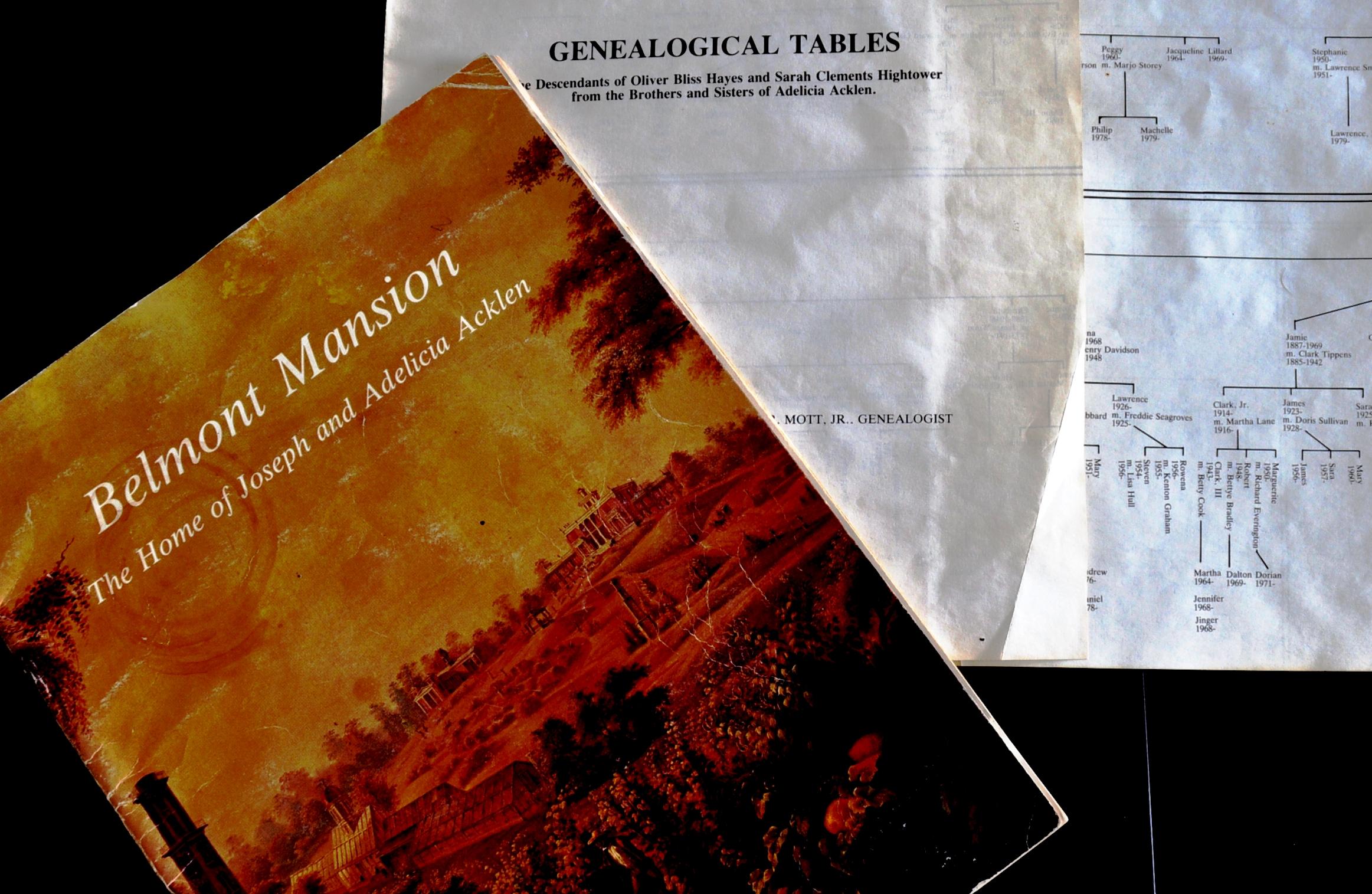 Belmont Geneology