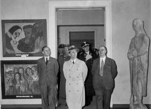 Ausstellung_entartete_kunst_1937 German Federal Archives