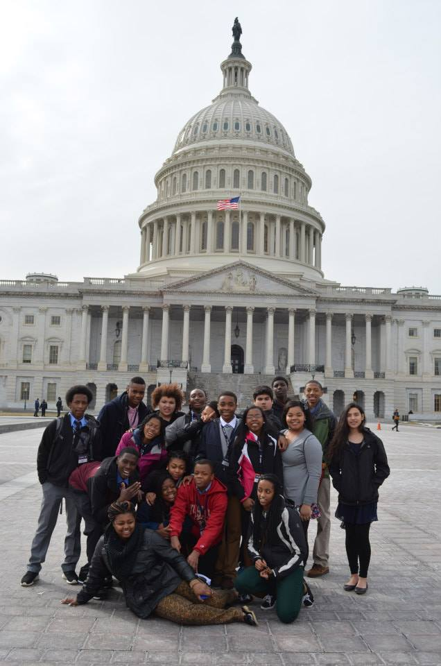 Beacon Academy students in Washington, D.C. this year.