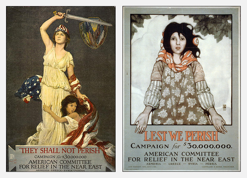 Armenian Genocide Posters