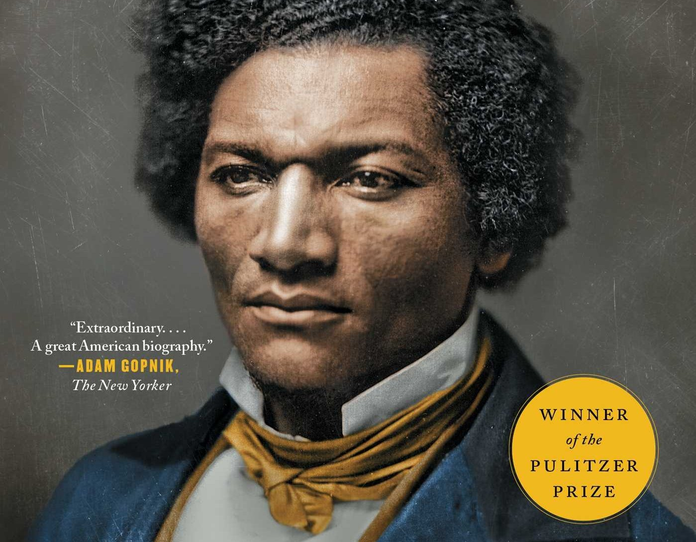 A portion of the cover of David Blight's book, Frederick Douglass: Prophet of Freedom (Simon & Schuster)
