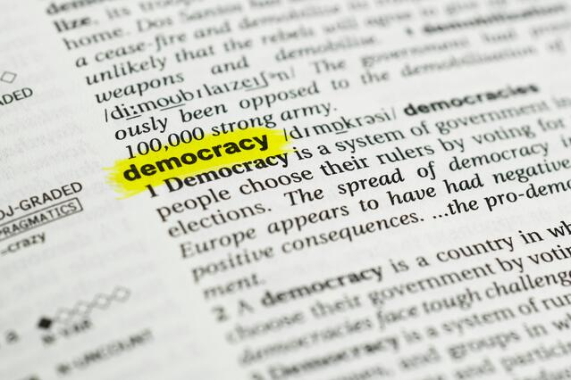What Makes Democracy Work? Democracy and US