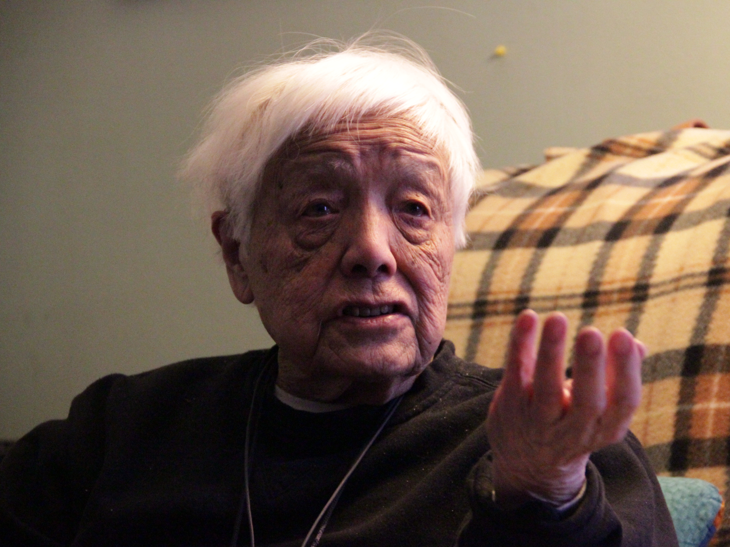 Grace Lee Boggs at her home inDetroiton February 21, 2012.