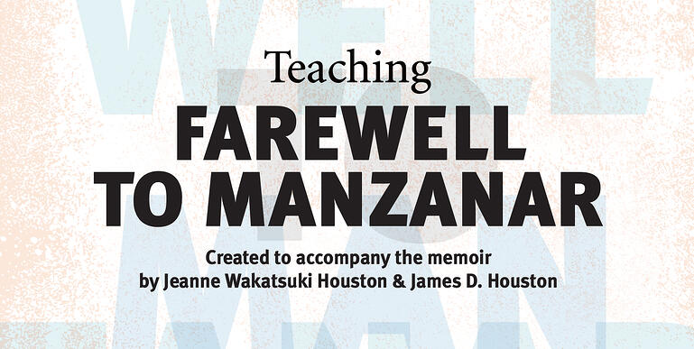 A portion of the cover of Teaching Farewell to Manzanar (Facing History and Ourselves, 2018).