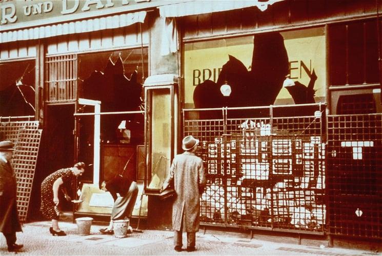 Kristallnacht Holocaust and Human Behavior