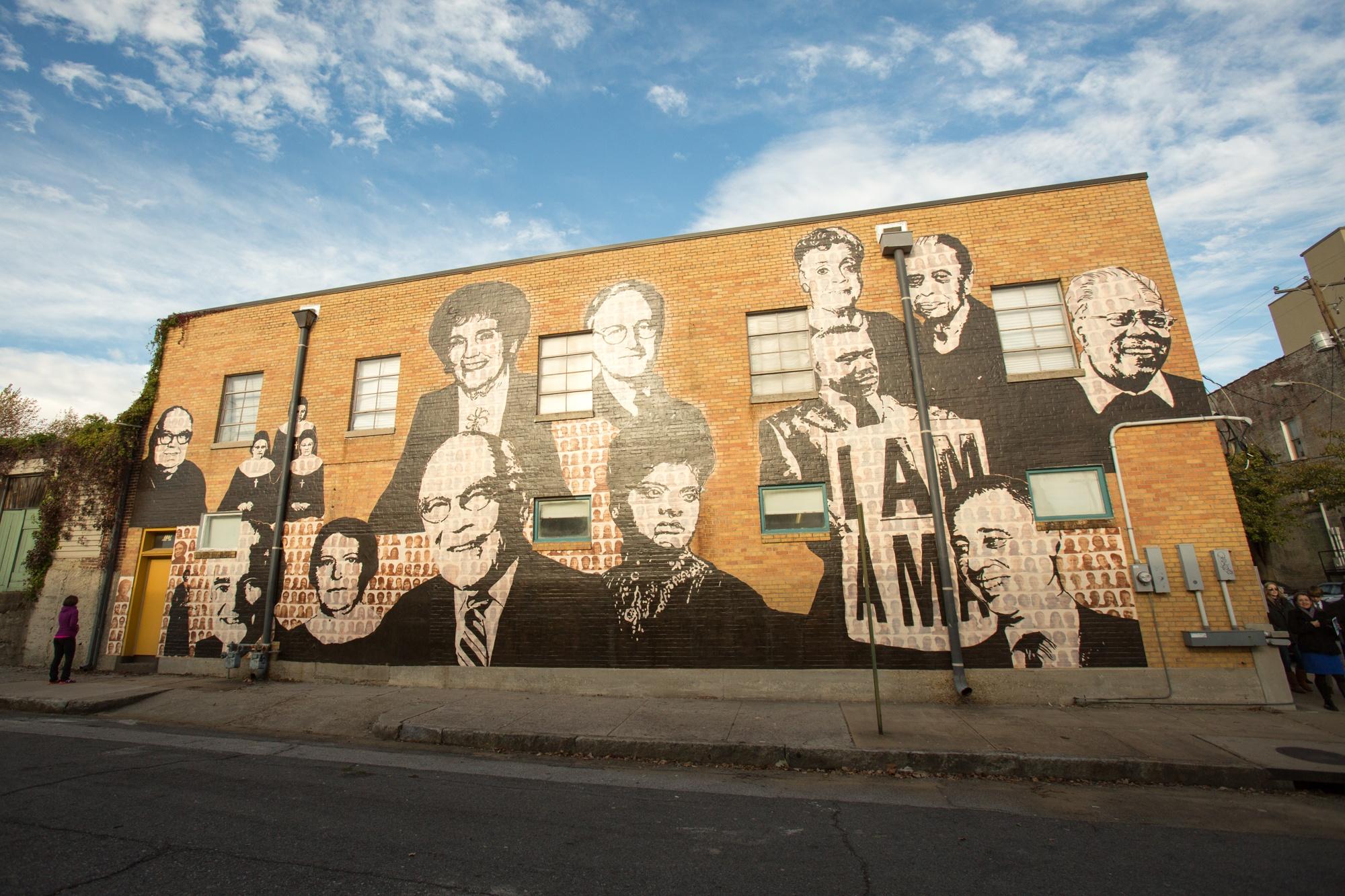 Memphis Upstanders Mural Dory Lerner