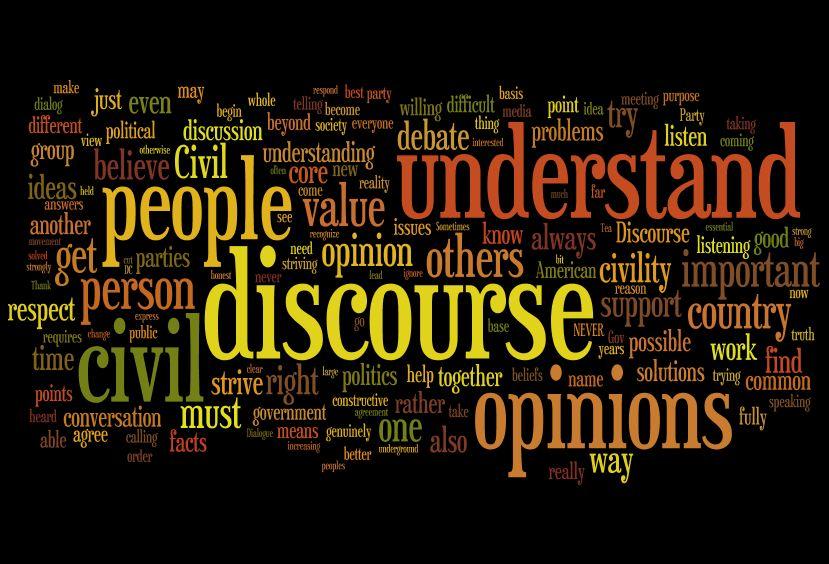civil discourse presidential election