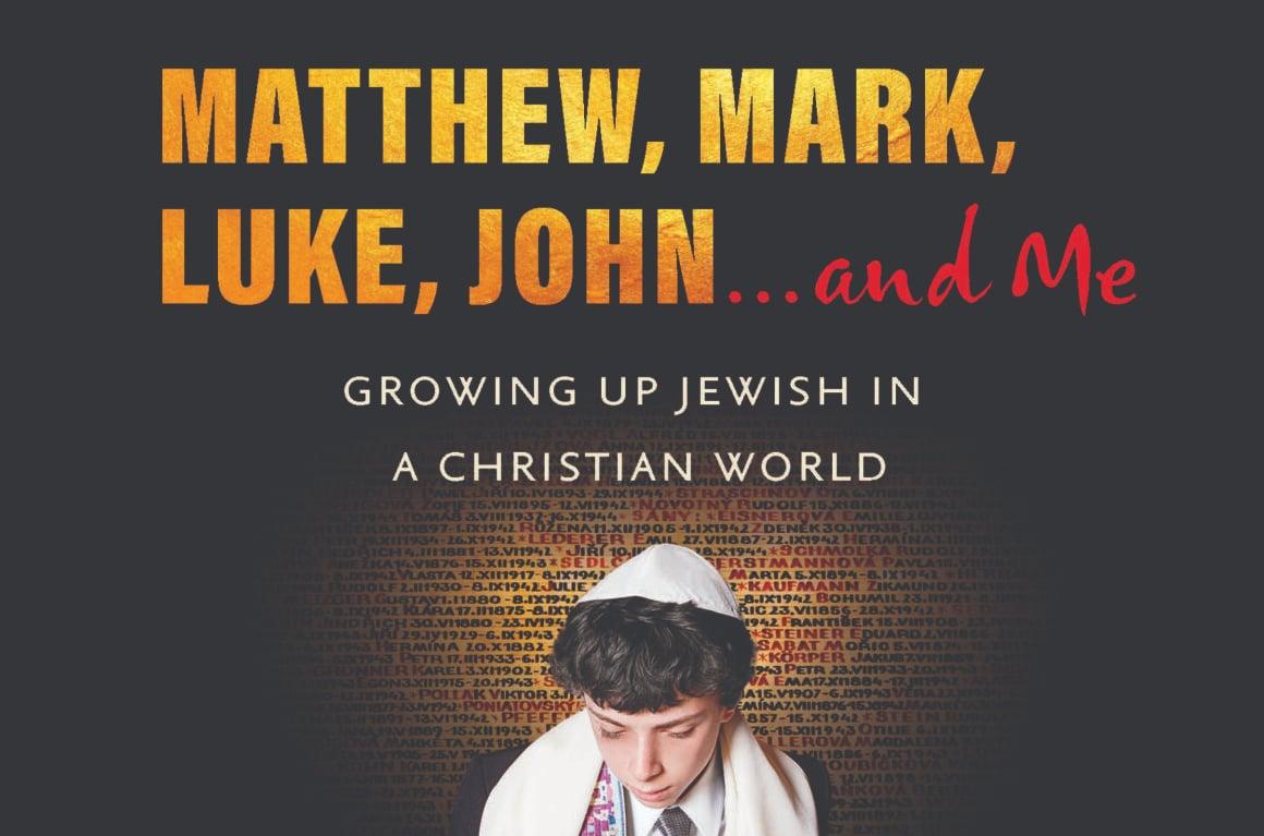 A portion of Matthew, Mark, Luke, John...and Me: Growing Up Jewish in a Christian World (Bauhan Publishing, 2020).