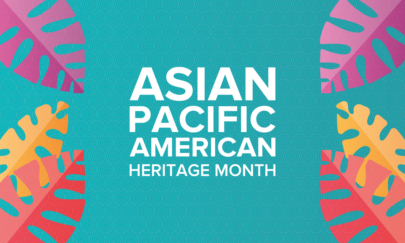 Banner celebrating Asian Pacific American Heritage Month